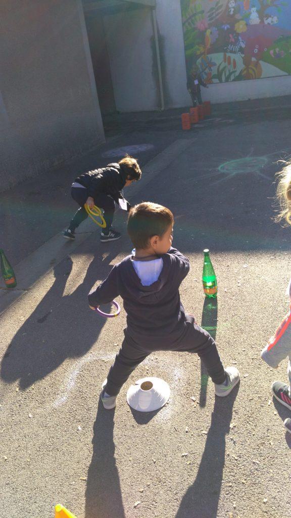 Ecole Sainte Marie Fuveau habilité olympiades jeu cerceau