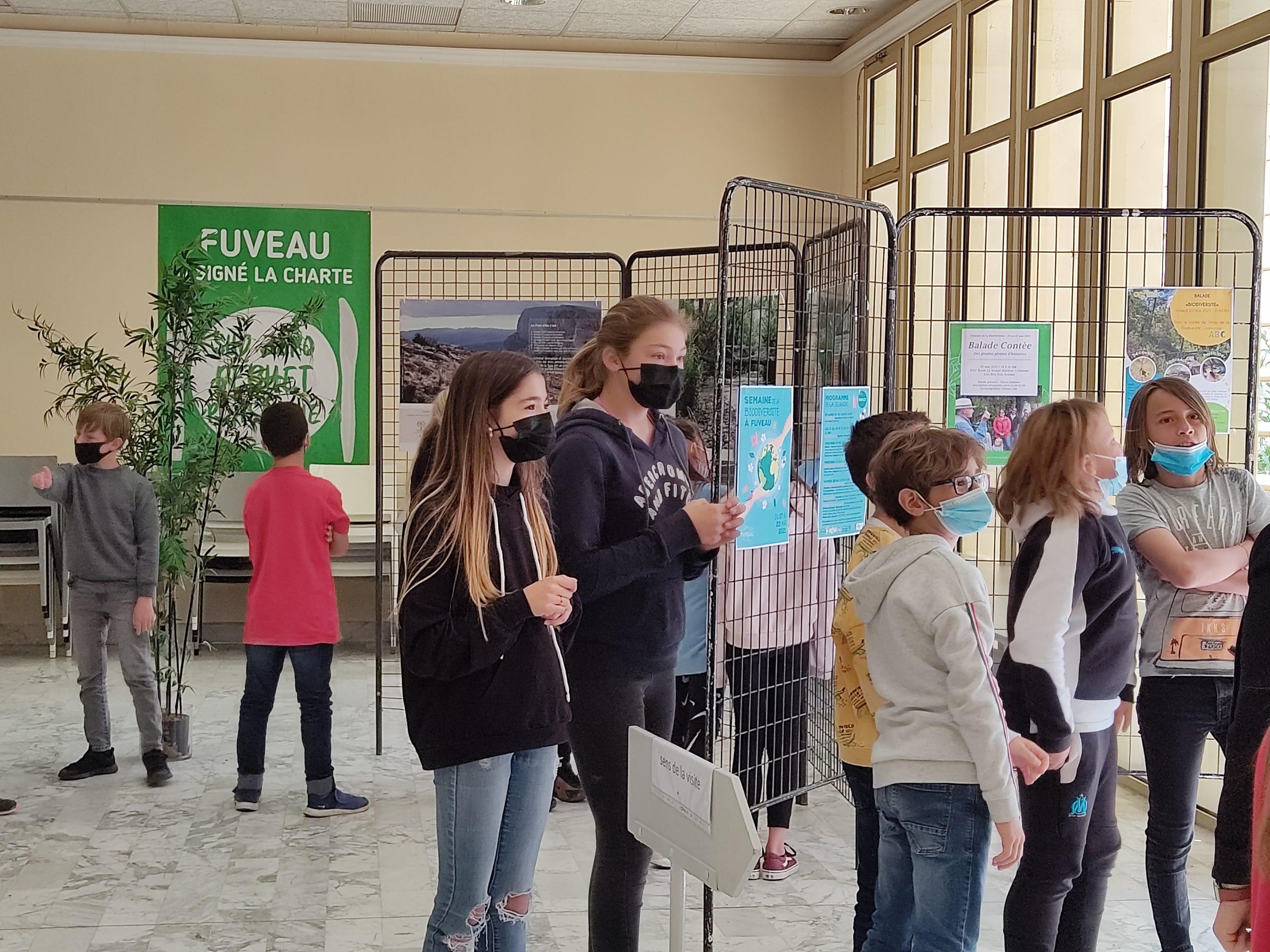 ecoles sainte marie fuveau biodiversité expo 5
